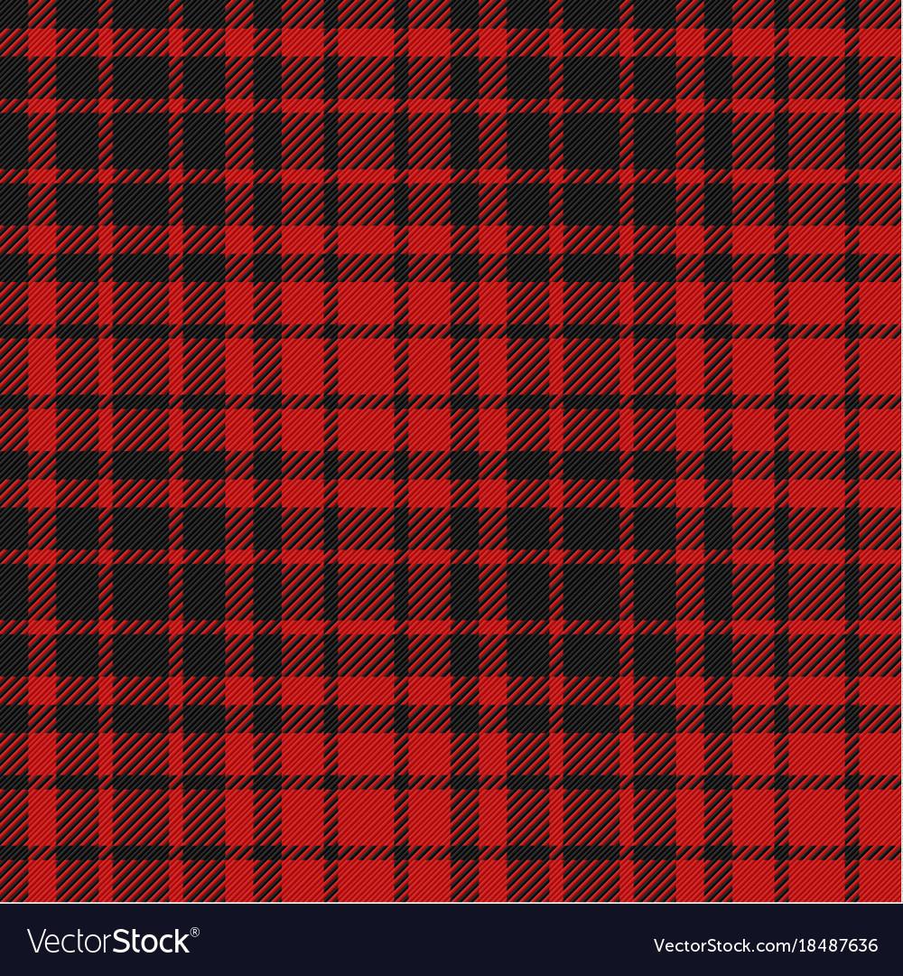 Flannel seamless pattern