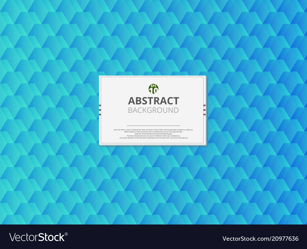 Modern design of abstract soft gradient turquoise