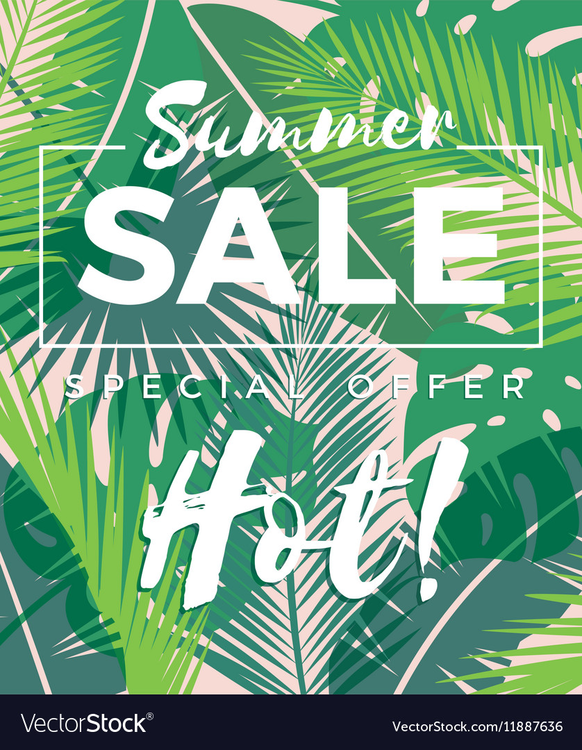 Summer sale design