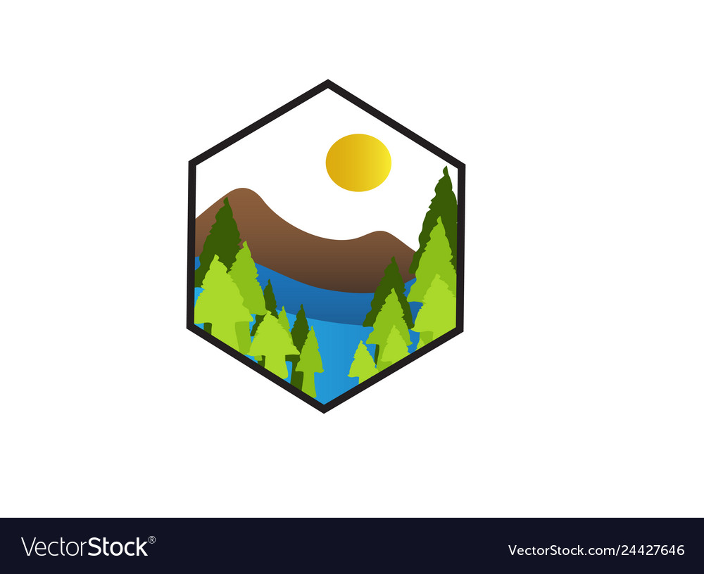 Icon adventure vector image