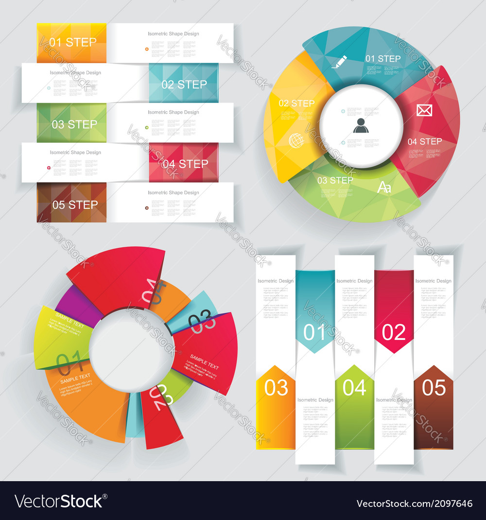 Modern business Infographics