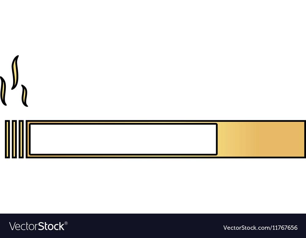 Cigarette computer symbol