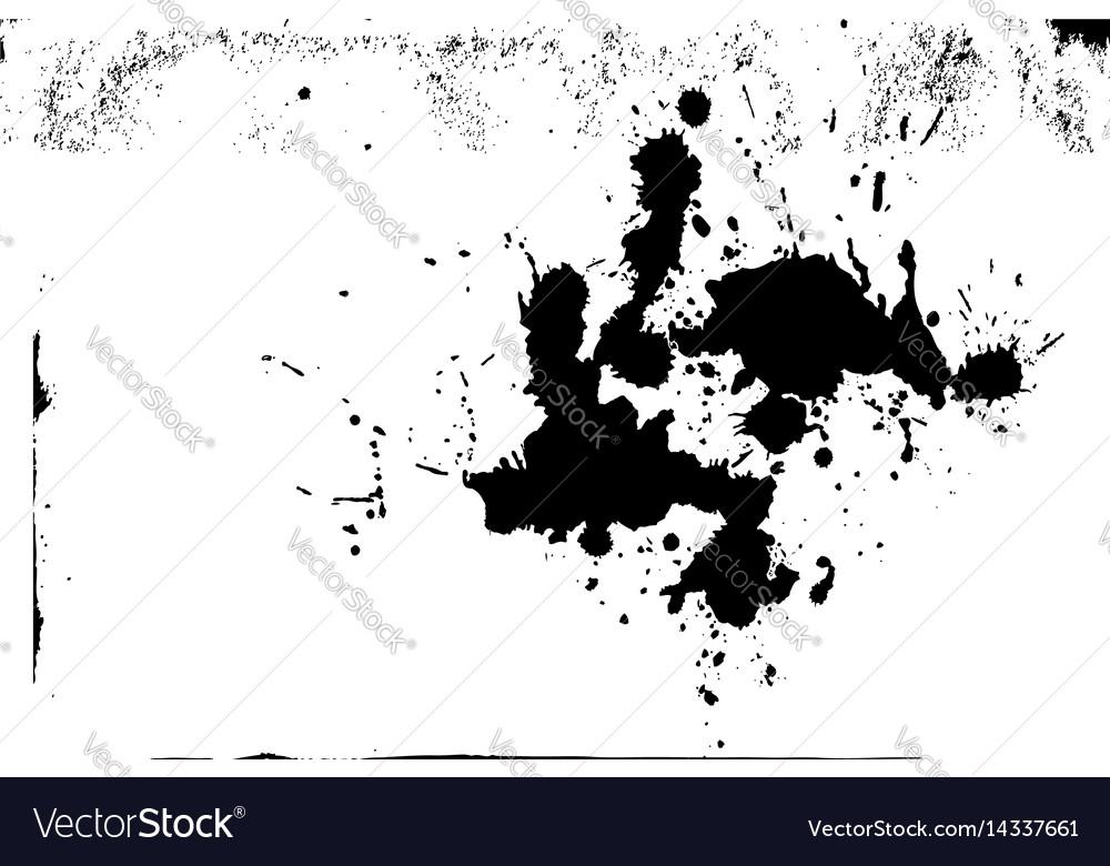 Paint splash isolated texture background design vector image
