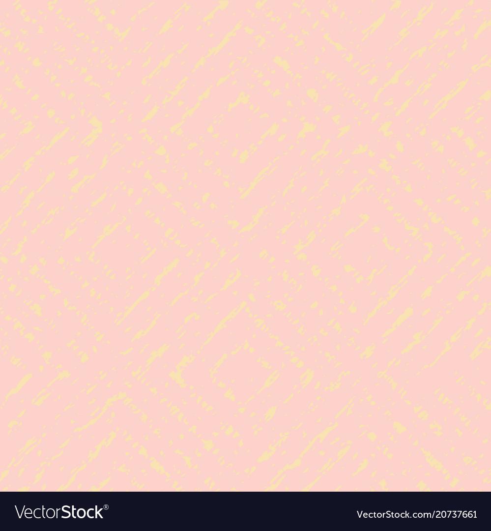 Pale pink yellow geometric pattern
