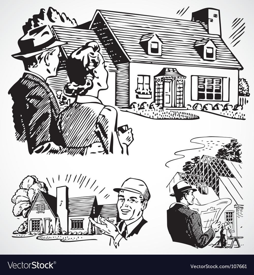 Retro real estate