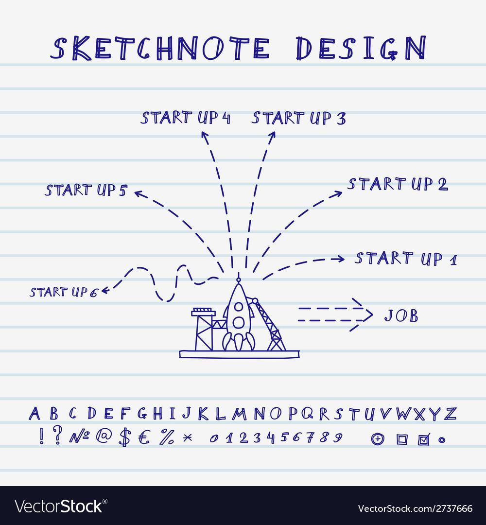 Doodle Start Up Design