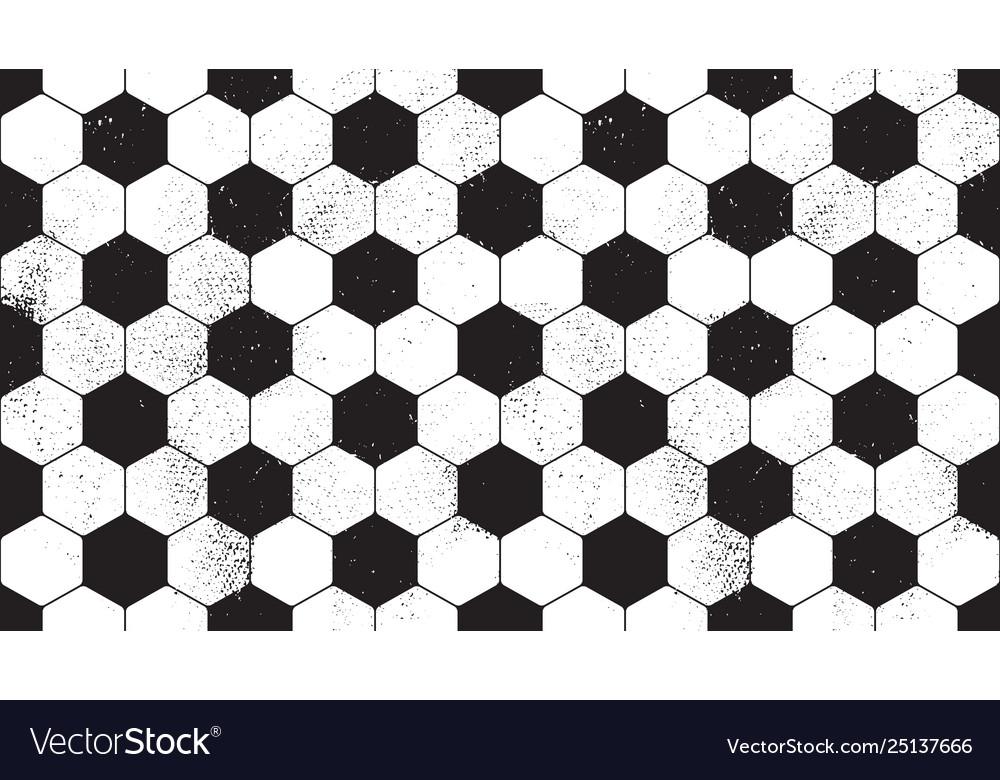 Football grunge seamless pattern