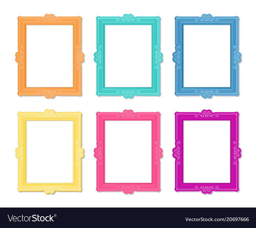 1a0a2c8f2722 Template frame Royalty Free Vector Image - VectorStock