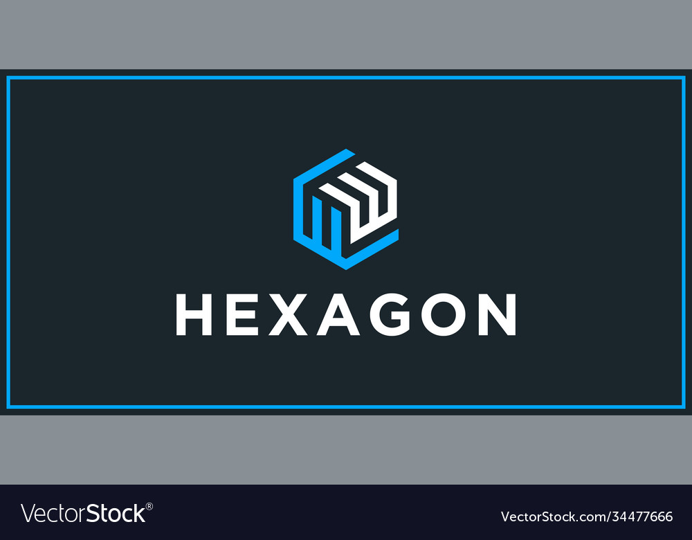 Ww hexagon logo design inspiration