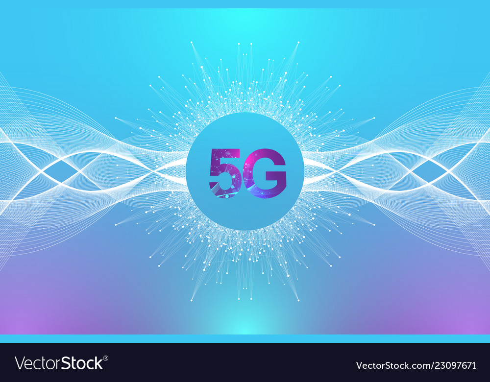 5g network wireless system and internet connection