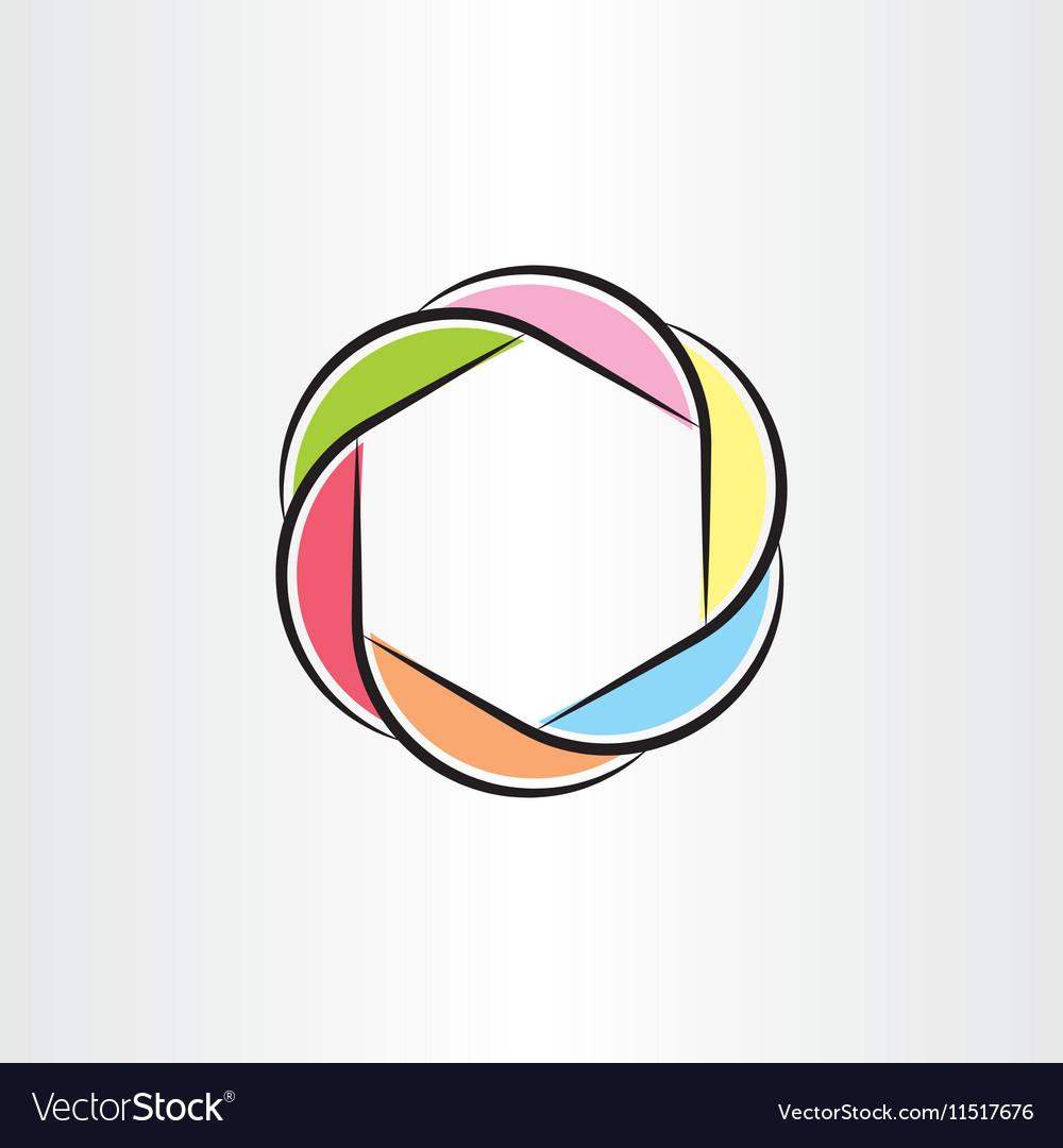 Abstract technology logo symbol element design