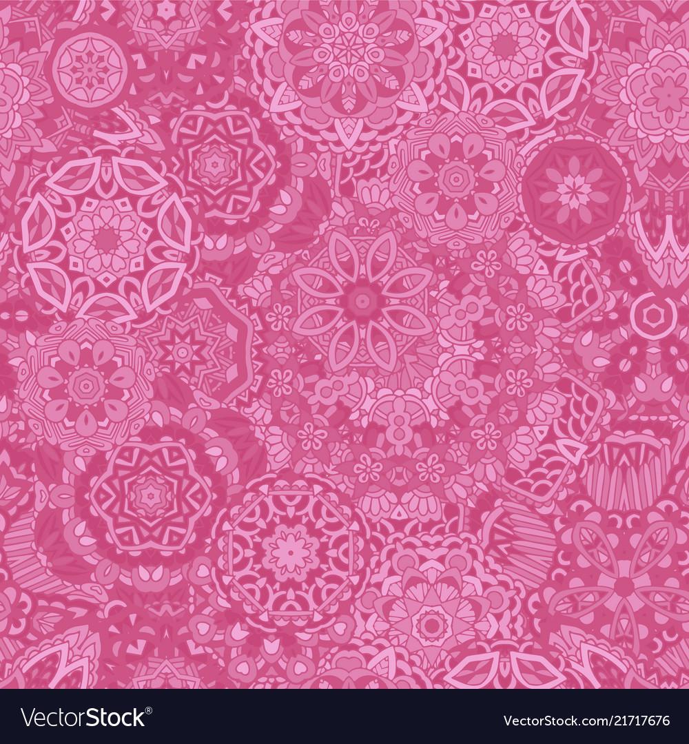 Flower ethnic seamless design lace pattern mandala
