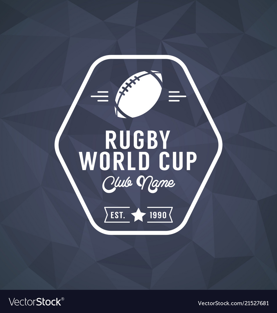 Rugby world cup logo sport