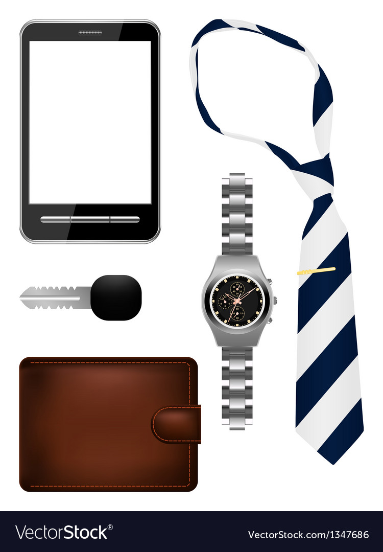 Bussiness man accessories set