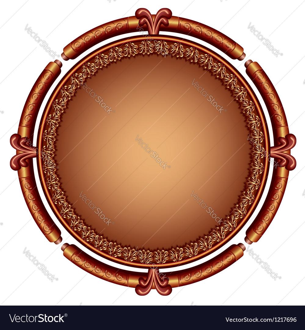 Decorative ornamental frame