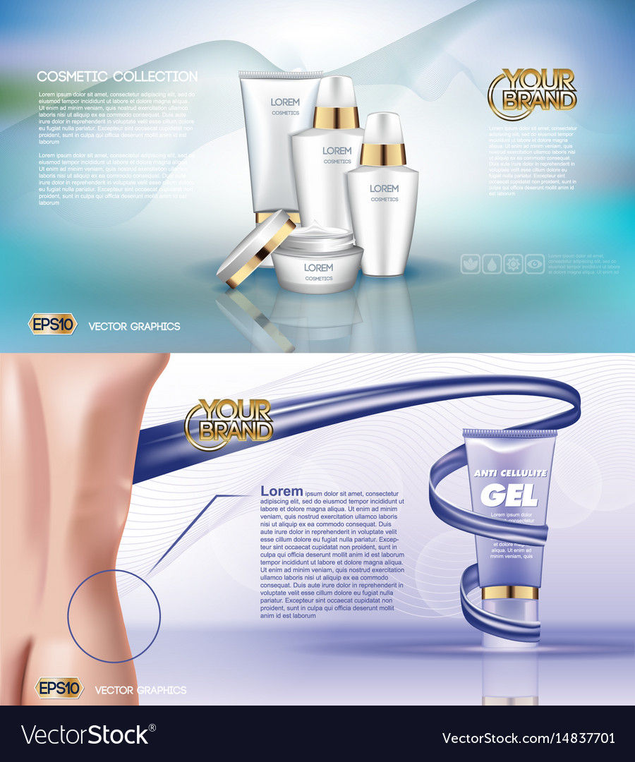 Digital white matte surface skin care