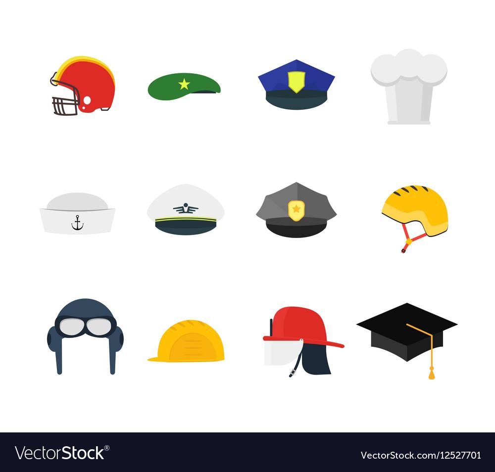Professions Hats Set for Men