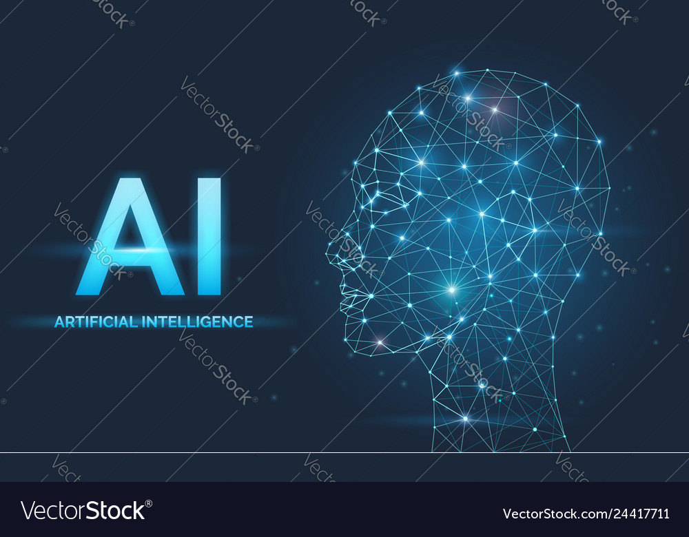 Artificial intelligence ai concept neural