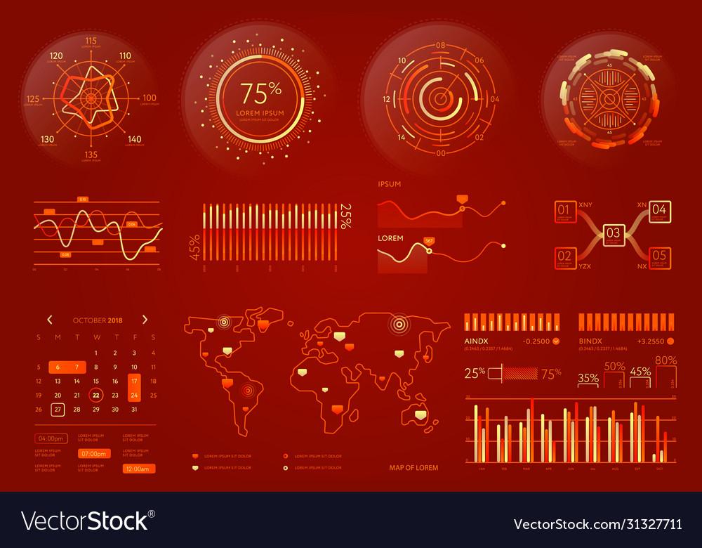 Business data visualization element