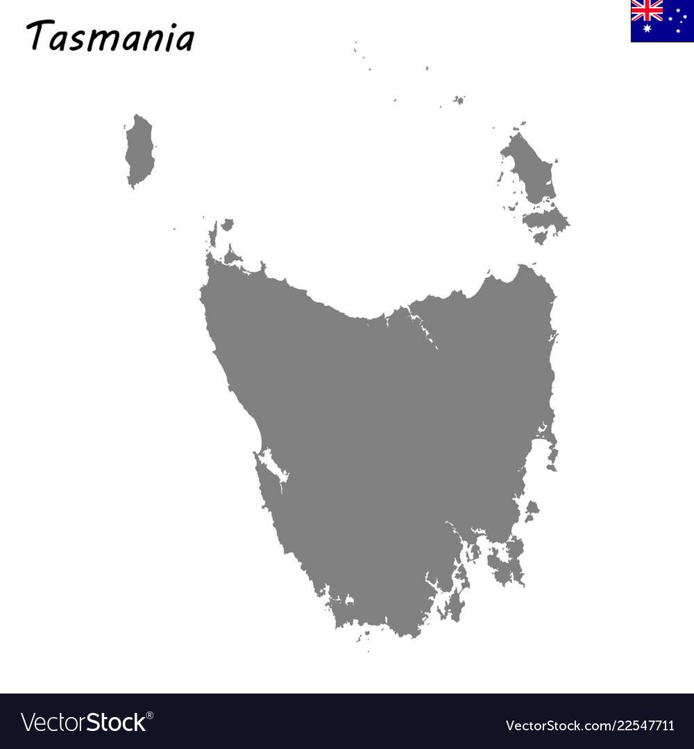 Map Australia Tasmania.Map Of Tasmania Is A State Of Australia