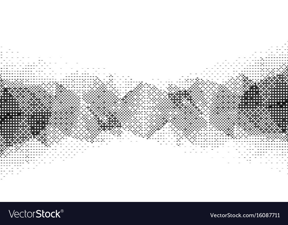 Monochrome particle pattern