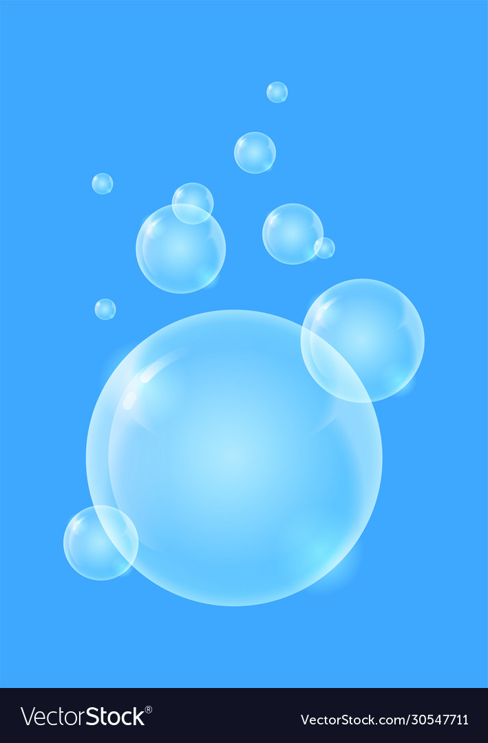 Shiny quality bubble liquid background for modern