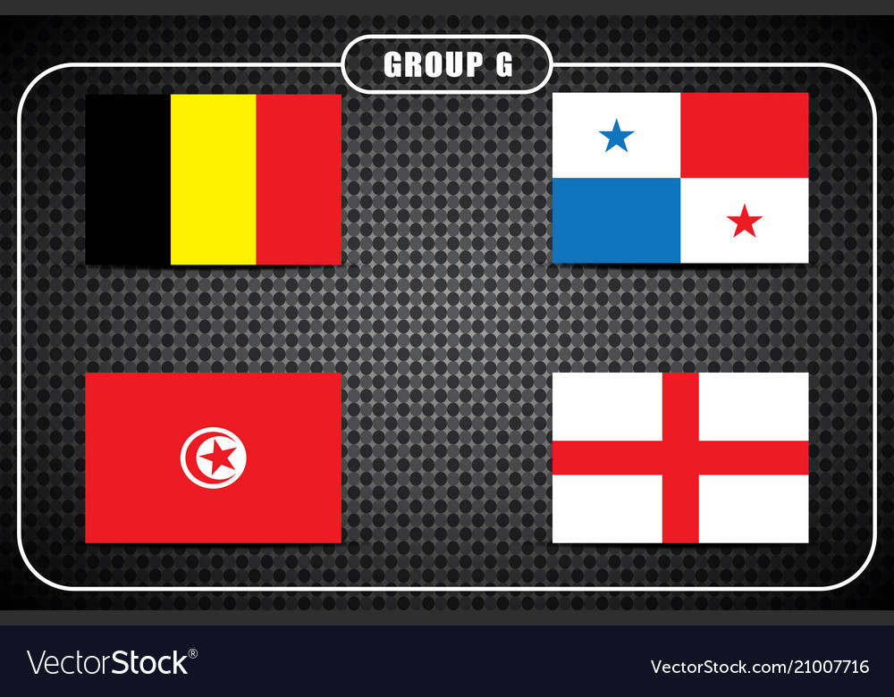 Football championship flags group g