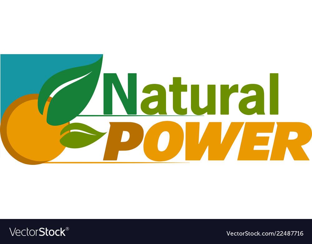 Green energy design for logo icon apps