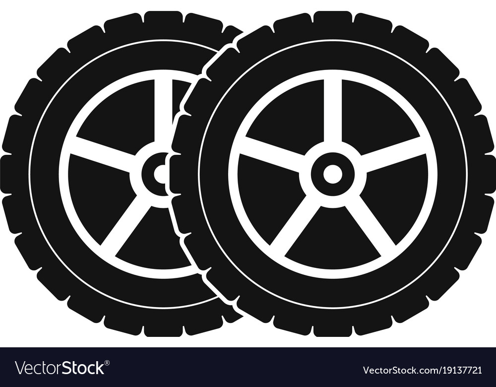 ec67ad493648f1 Car tyre icon simple style Royalty Free Vector Image