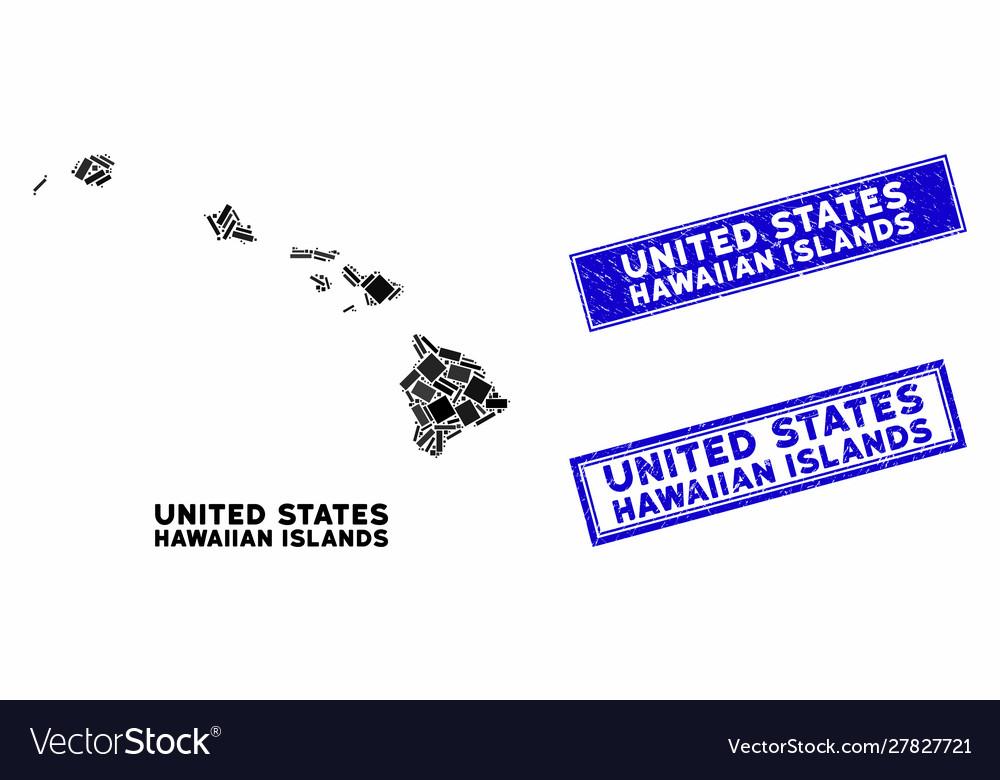 Mosaic hawaiian islands map and distress rectangle on mauna loa, french polynesia map, oahu map, diamond head, james cook, hawaiian language, honolulu map, caribbean islands map, waikīkī, kauai map, hawaiian island chain, new zealand map, aleutian islands map, tropical island map, necker island, hawaiian island colors, midway atoll, tasmania map, hawaii map, maui map, pacific islands map, big island map, bahamas map, austria map, ford island map, mauna kea, new caledonia map, japan map,