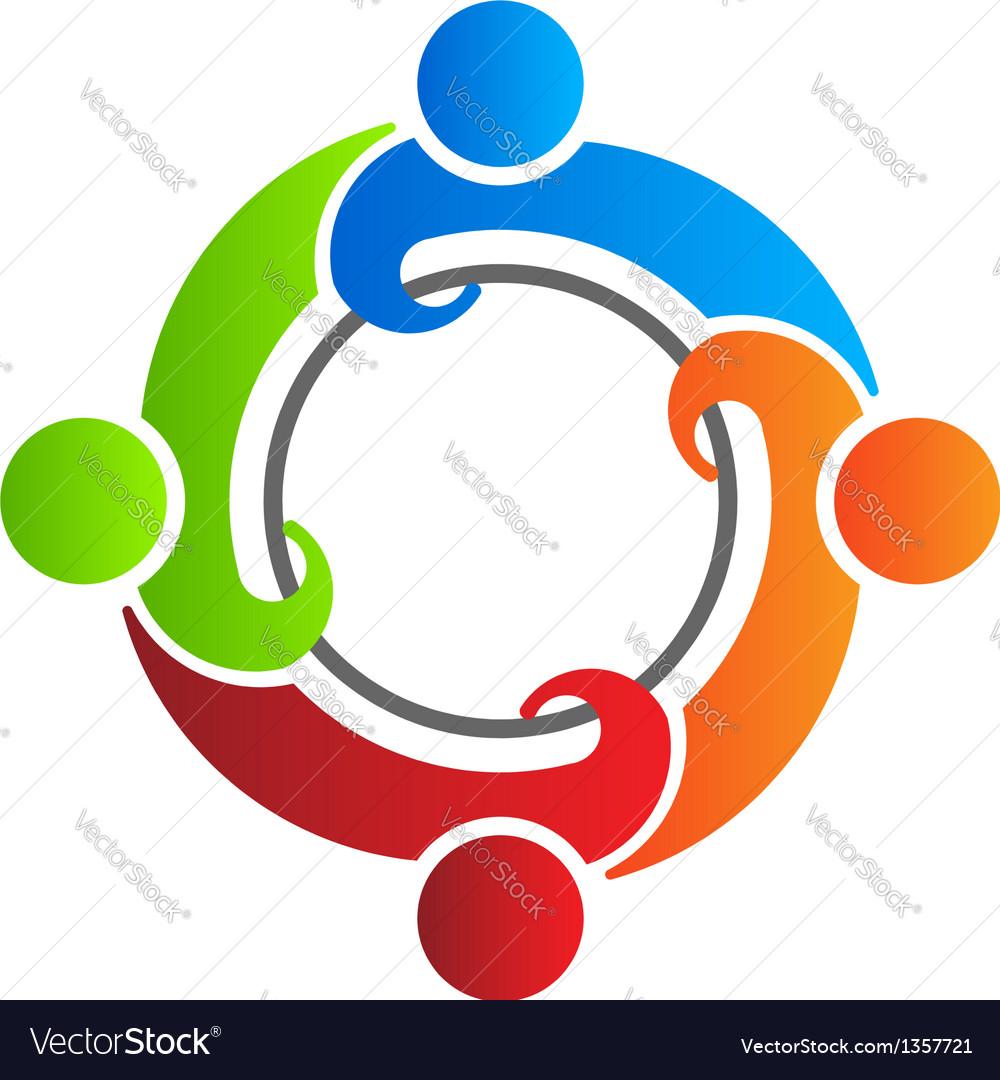 team reunion 4 logo design element royalty free vector image rh vectorstock com logo vectors illustrator logo vector format