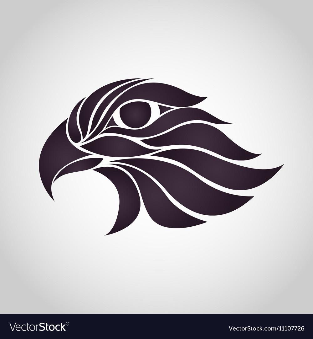 Abstract Hawk Logo