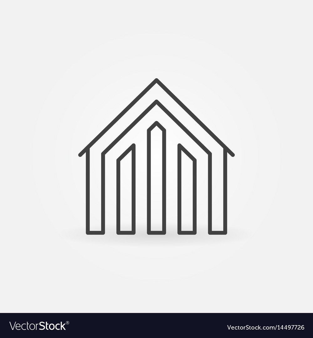 House linear icon
