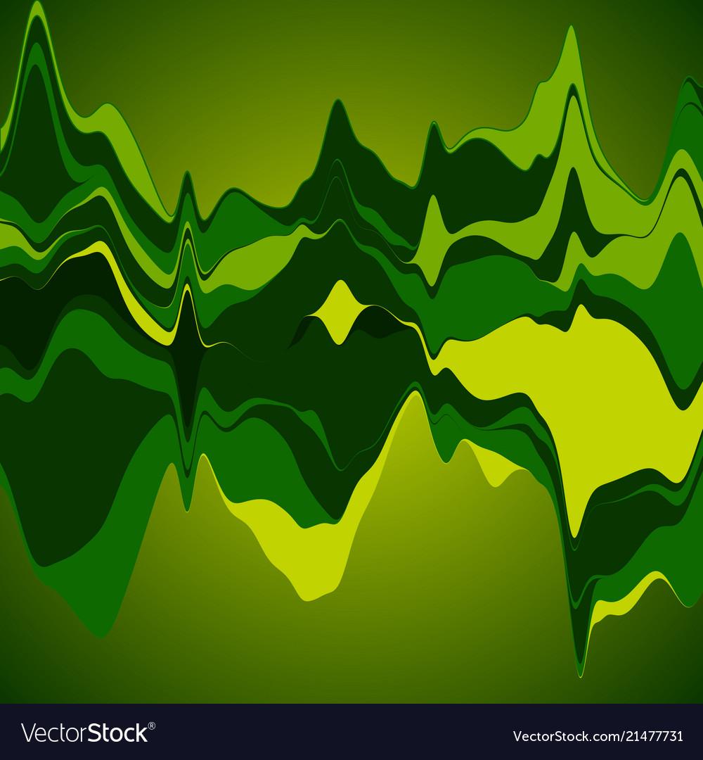 Big data visualization streamgraph futuristic