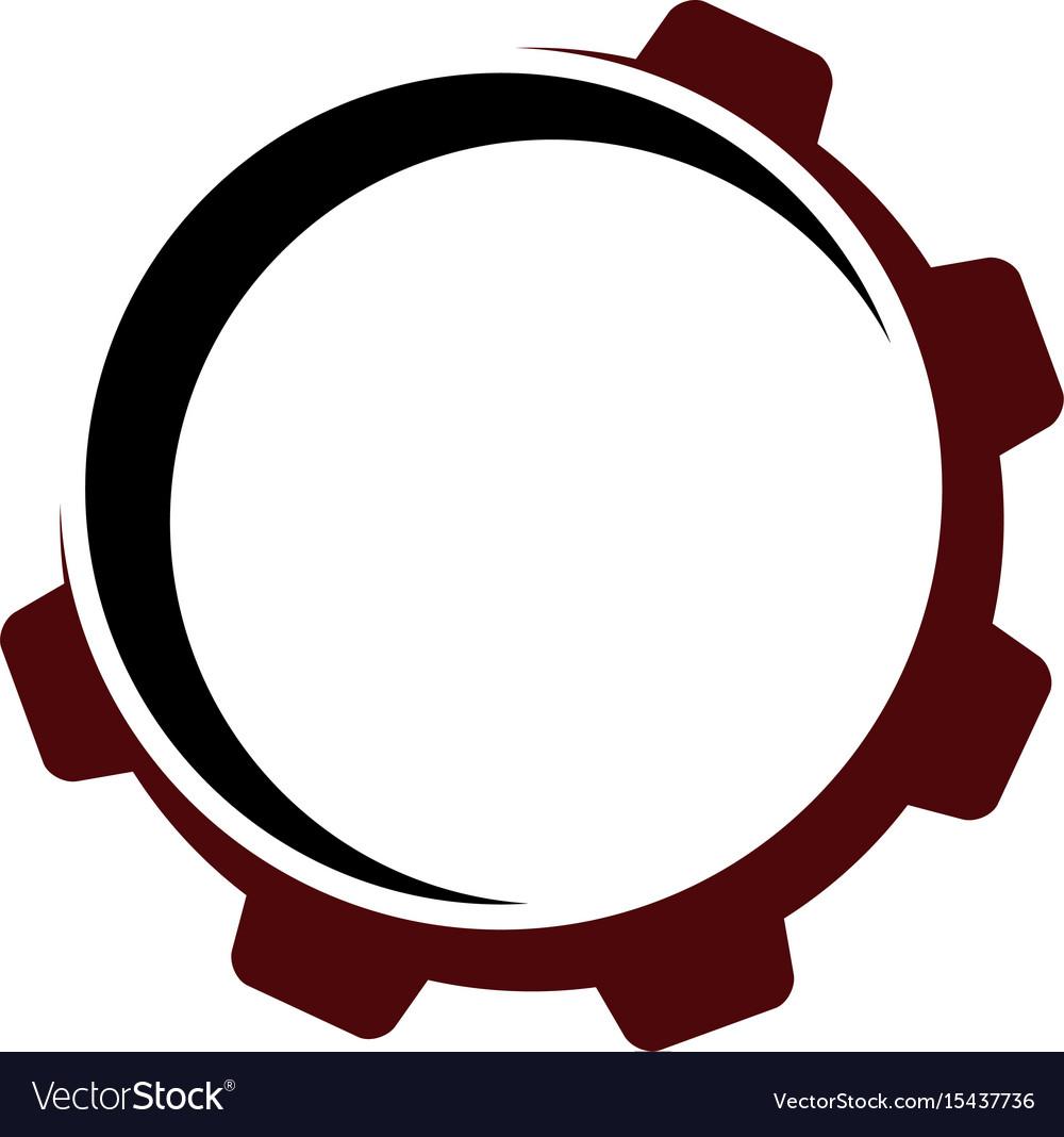 Gear template logo Royalty Free Vector Image - VectorStock