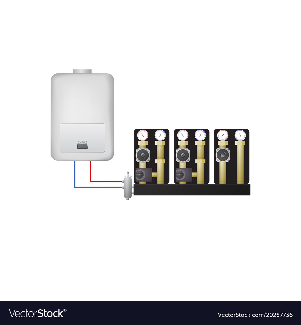 Piping condensate boiler