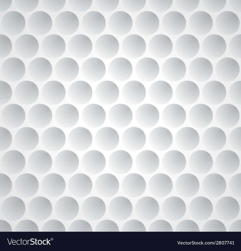 golf ball seamless pattern royalty free vector image