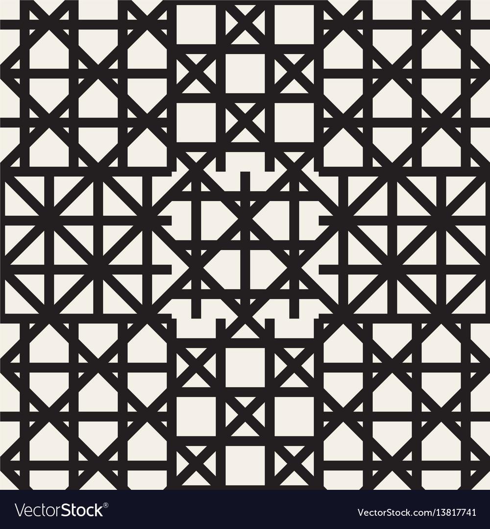 Zigzag lines geometric seamless pattern