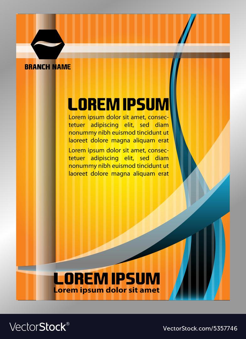 Flyer design poster background Design layout