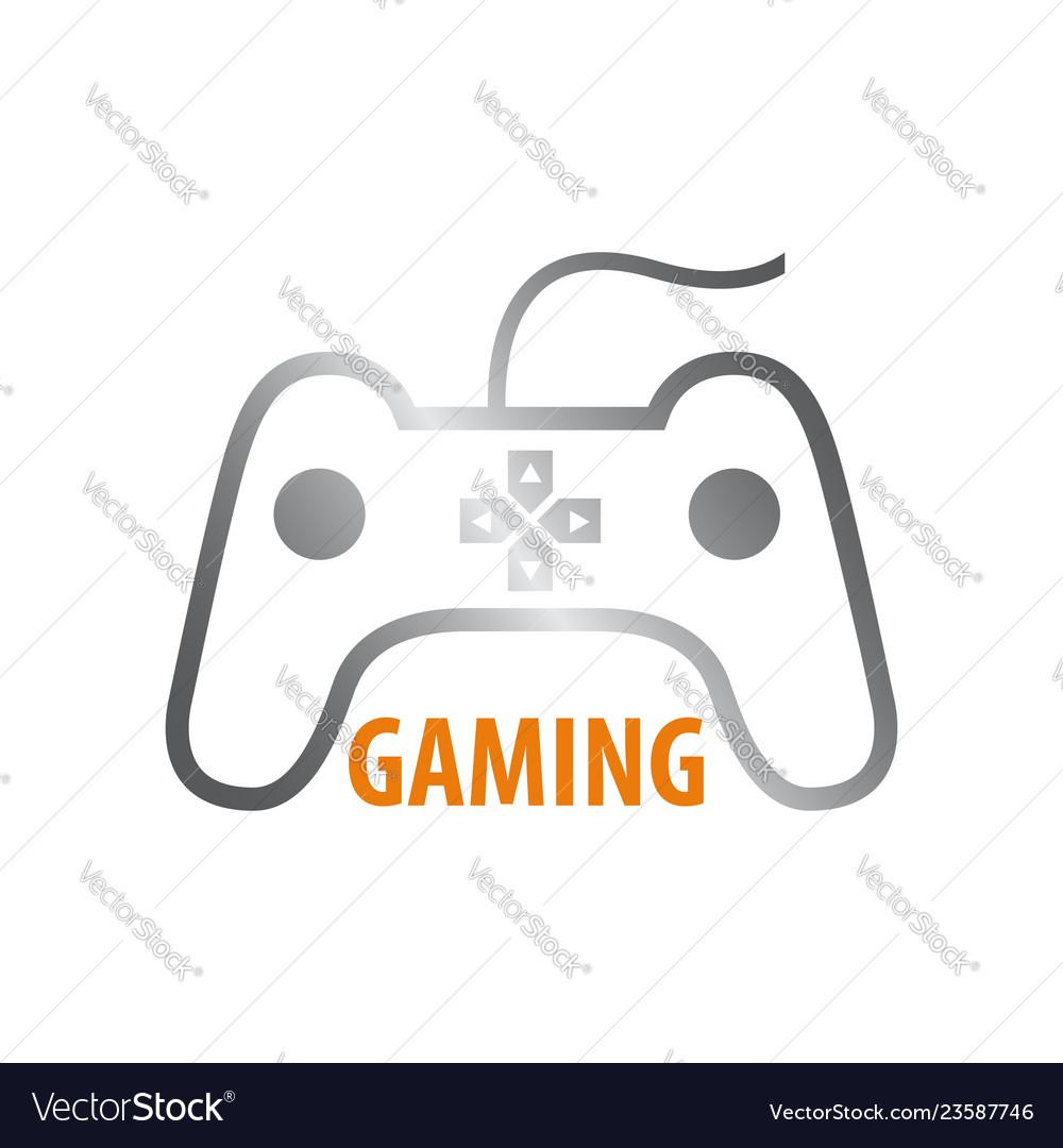 Stick gaming logo concept design symbol graphic