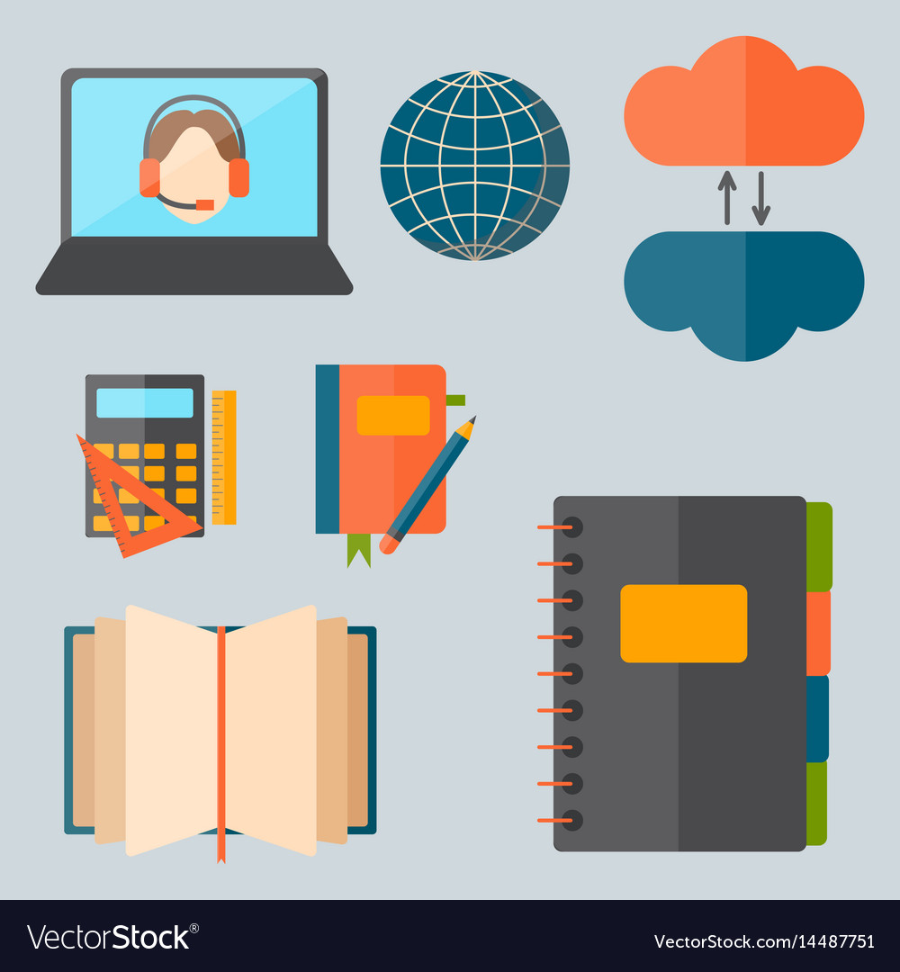 Education and school web icon