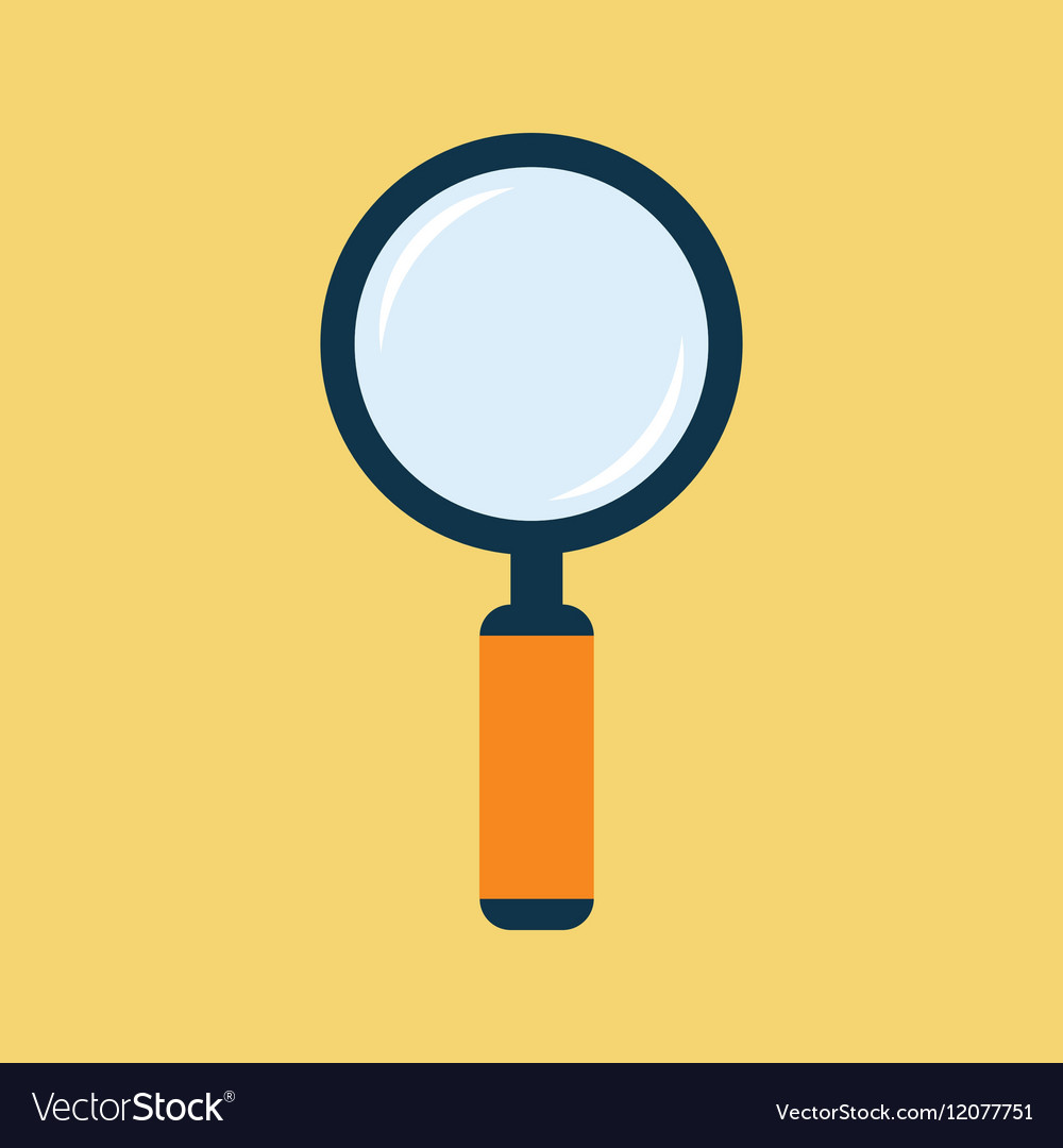 Magnifier Flat Icon