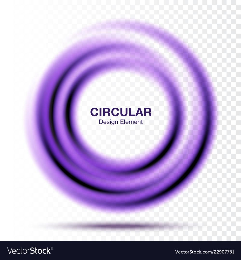 Swirle gradient round banner