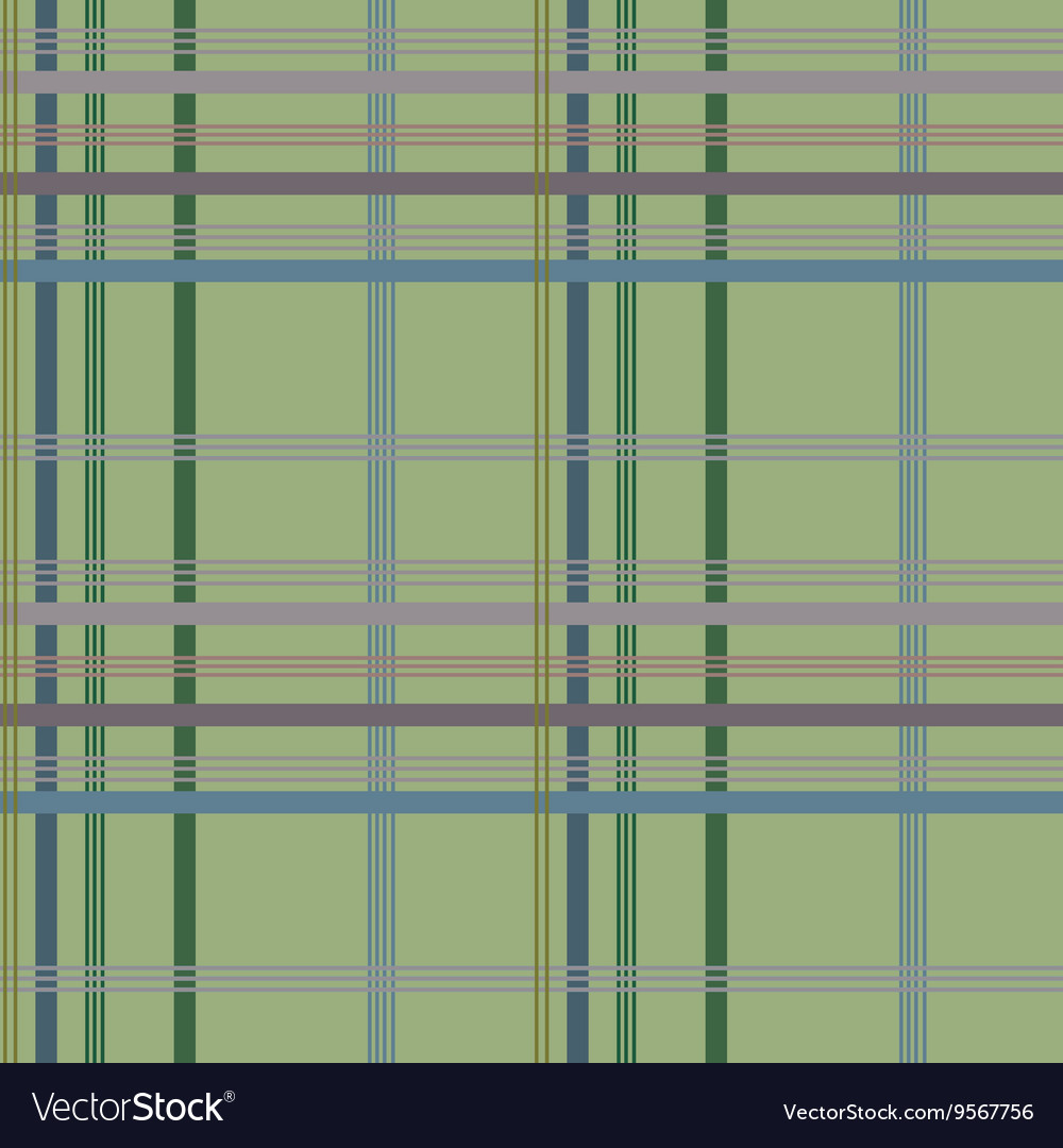 Tartan green seamless pattern