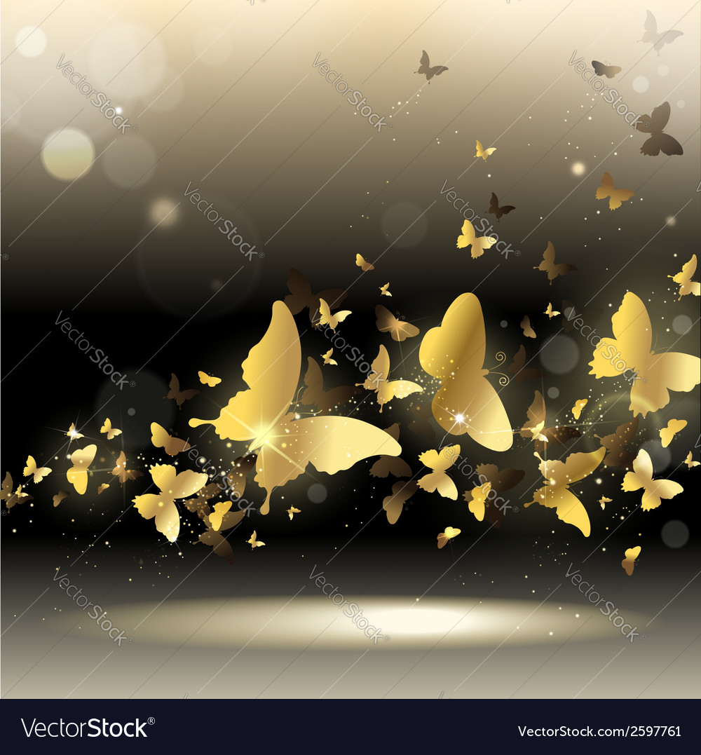 Whirlwind of butterflies
