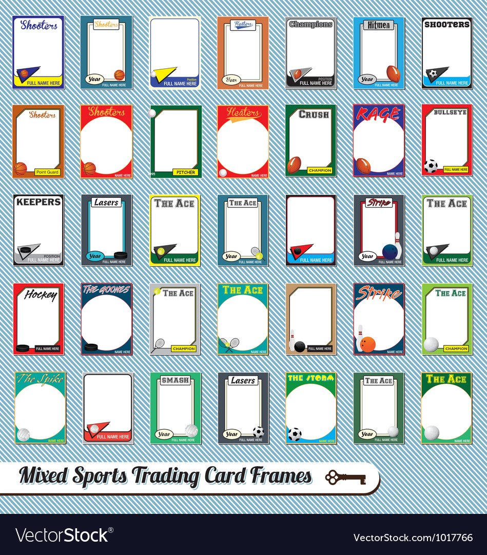 Mixed Sports Trading Cards