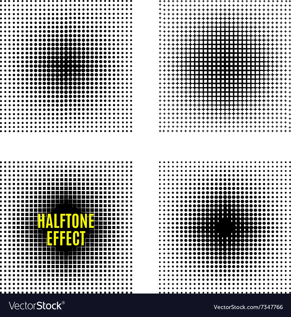 Set Halftone isolation element design