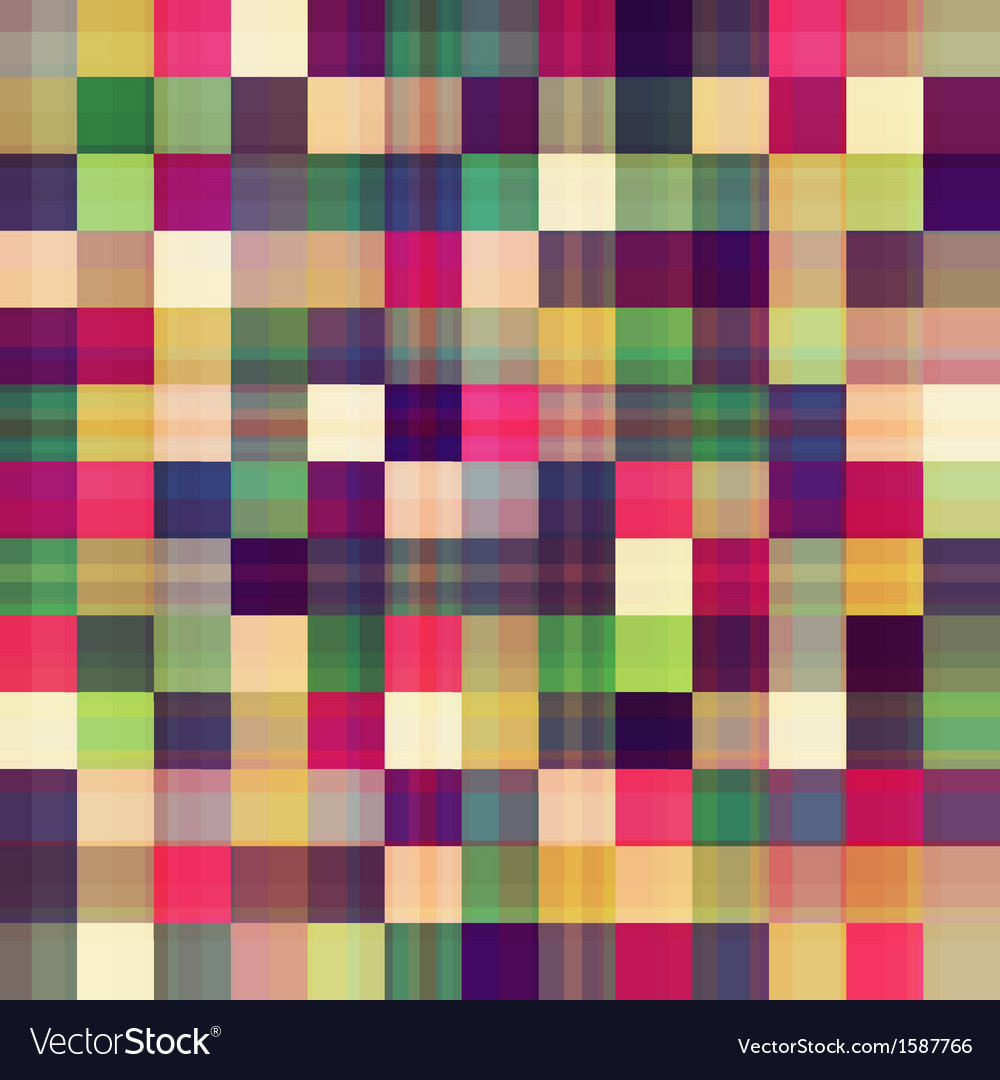 Square geometric seamless pattern