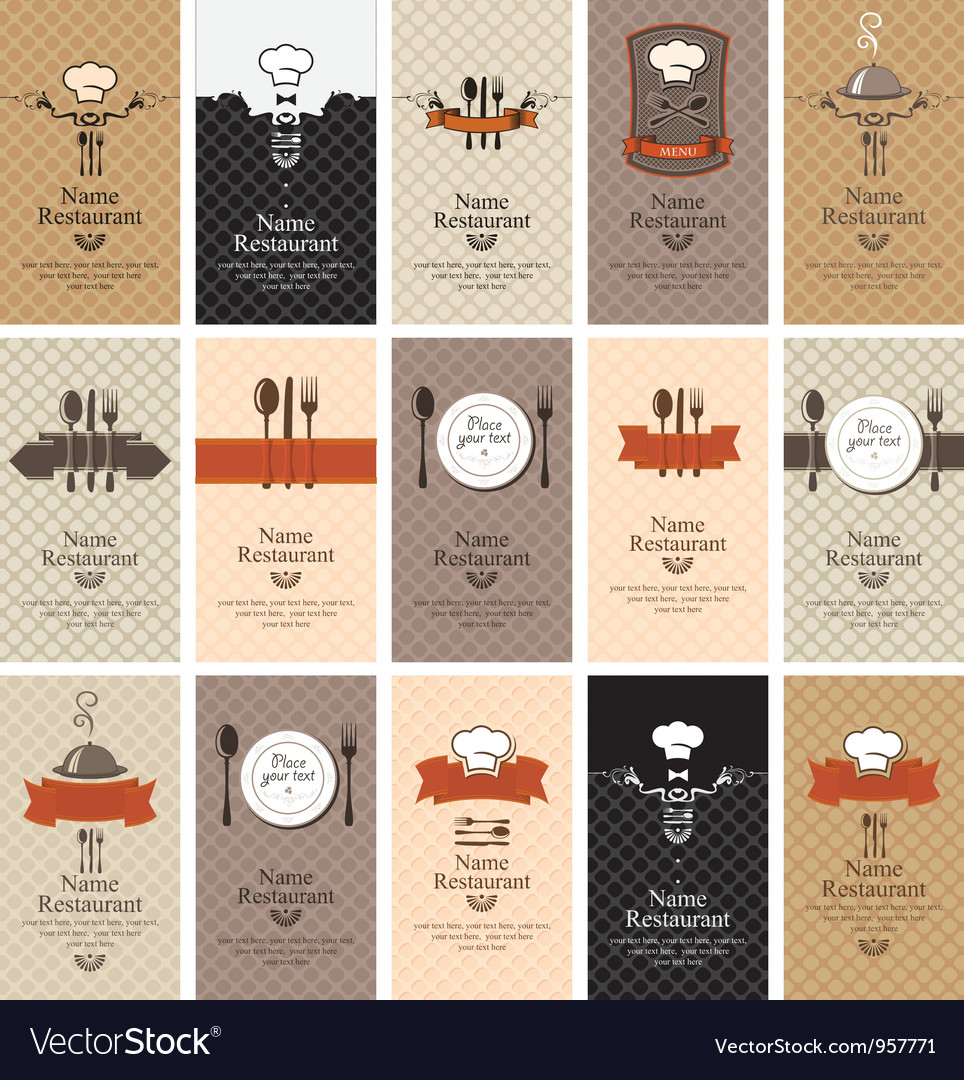 Food beverages vector image
