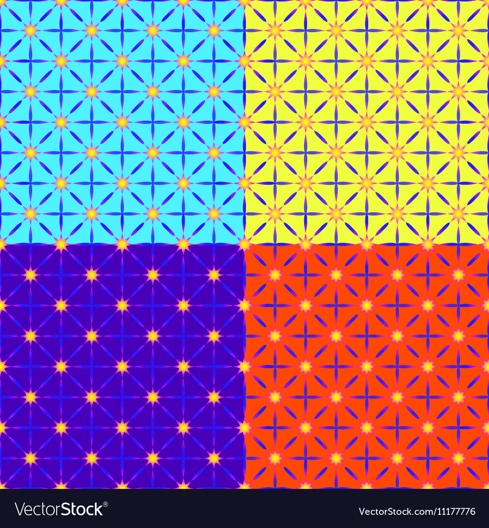 A set of four patterns